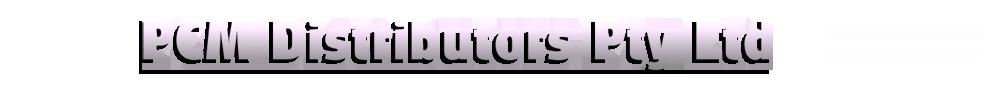 PCM Distributors Pty Ltd Logo